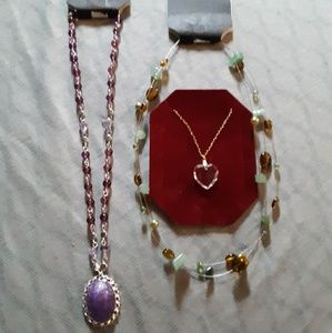 3 New Necklaces by George